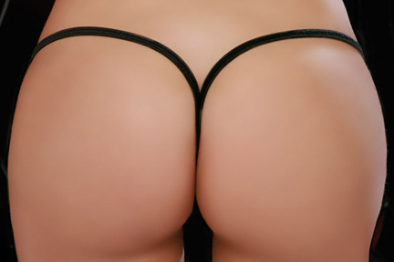 Back view of G String