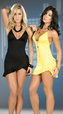 Black and Yellow Cocktail Dresses