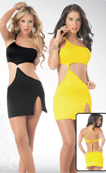 Yellow and Black Dresses